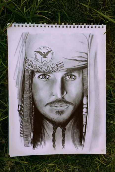 Johnny Depp by RajaBarber